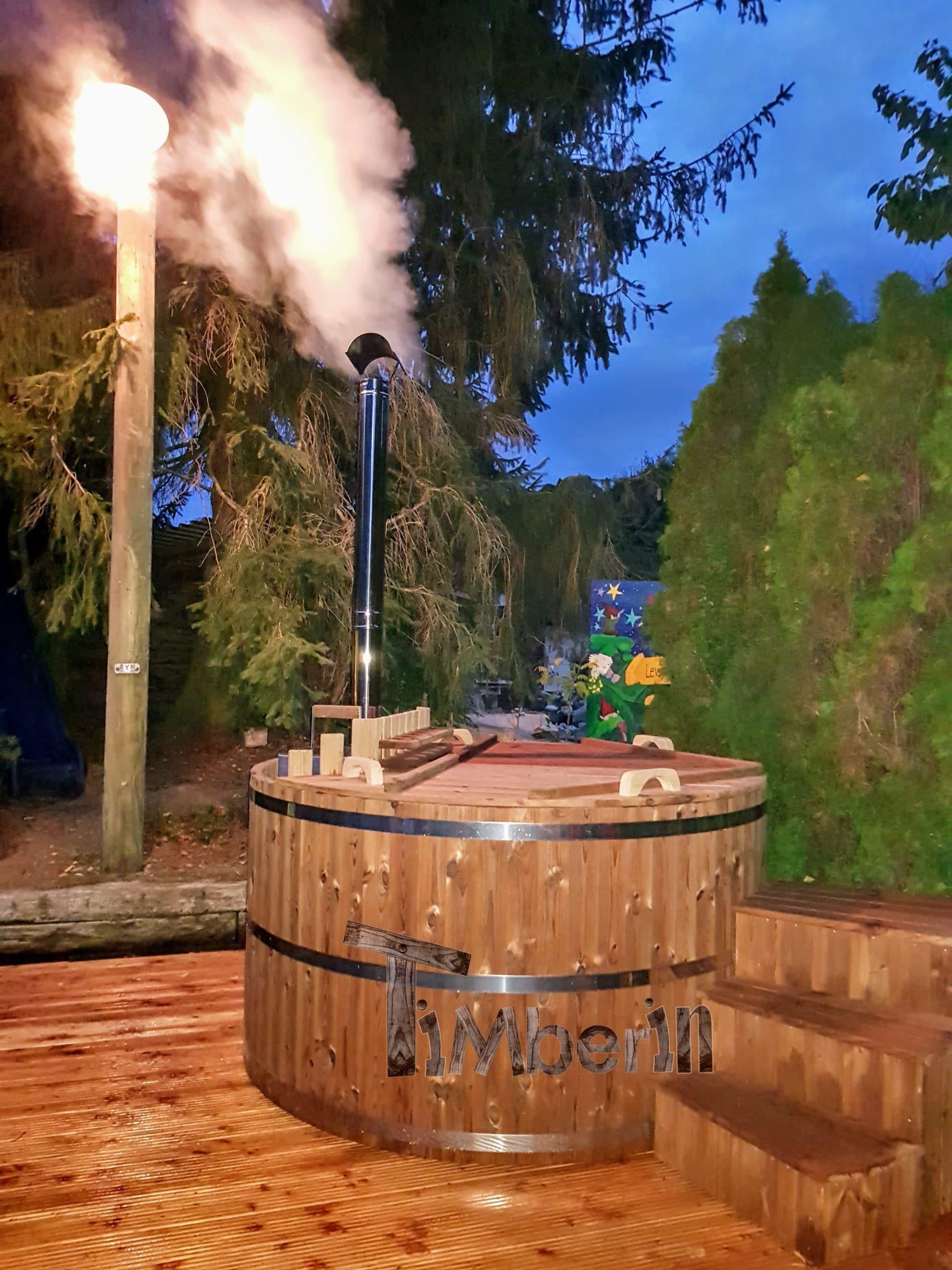 badtunna trä läcker
