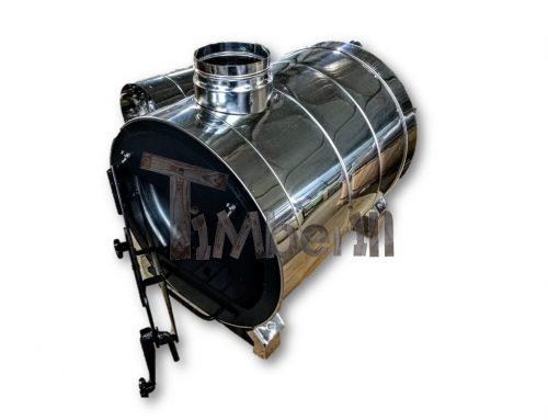 Extern badtunna vedbrännare klor, saltsäker (7)