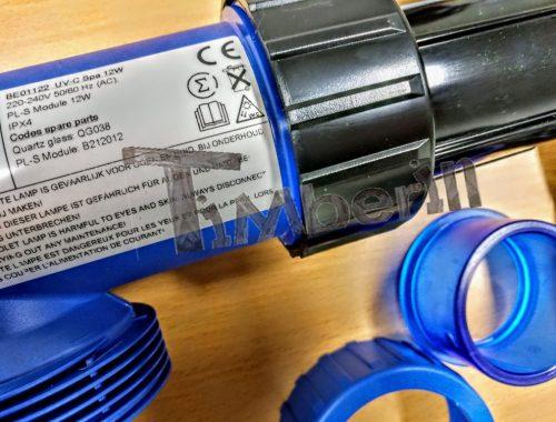 UV C filter för kemikaliefri vattenrening för badtunnor
