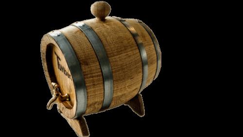Ett Träfat För Vin, Whisky Eller Öl (1)