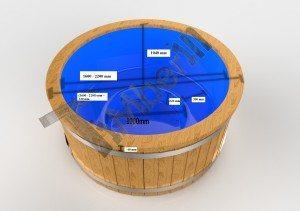 Badestamp i plast 3D (1)