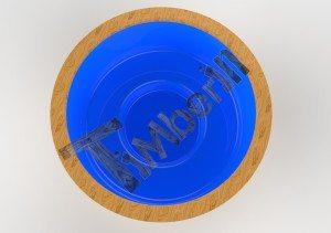 Badestamp i plast 3D (5)