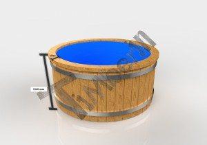 Badestamp i plast 3D (6)